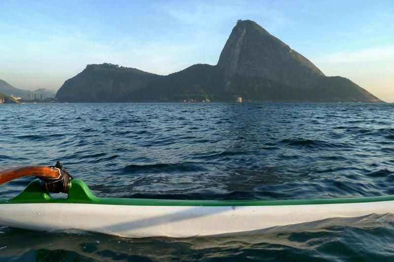 Guanabara Bay Hawaiian Canoe Excursion