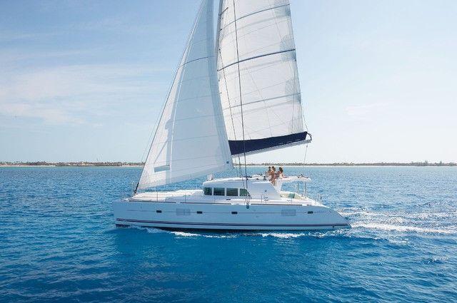 Deluxe Santorini Catamaran Cruise