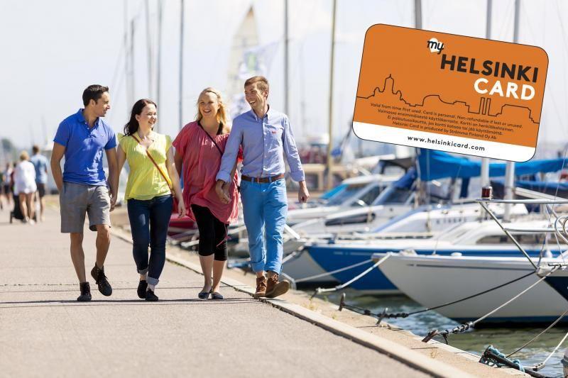 Helsinki Metropolitan Sightseeing Pass: Bus + Boat Tour + Museum Admission