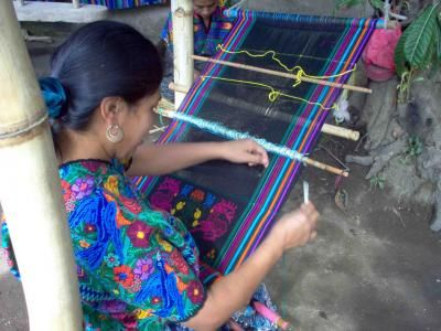 Vieja Villages and Elaboration of Huipiles from Guatemala City or Antigua