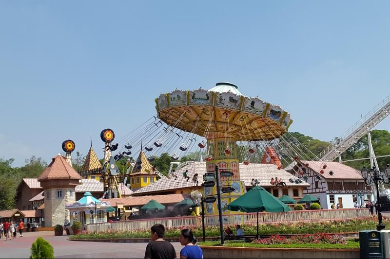 Xetulul Theme Park Ticket & Transfer From Guatemala City