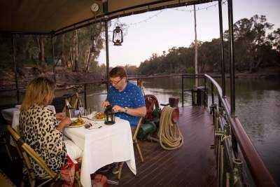 Murray River Dinner Cruise aboard PS Emmylou