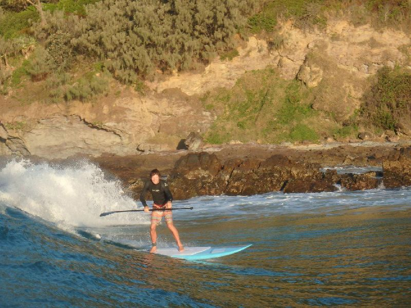Stand Up Paddle Lesson at Double Island From Rainbow Beach