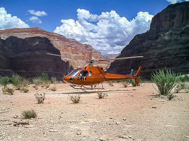 Grand Canyon West Rim Tour W/ Helicopter/Boat Tour - VIP Experience