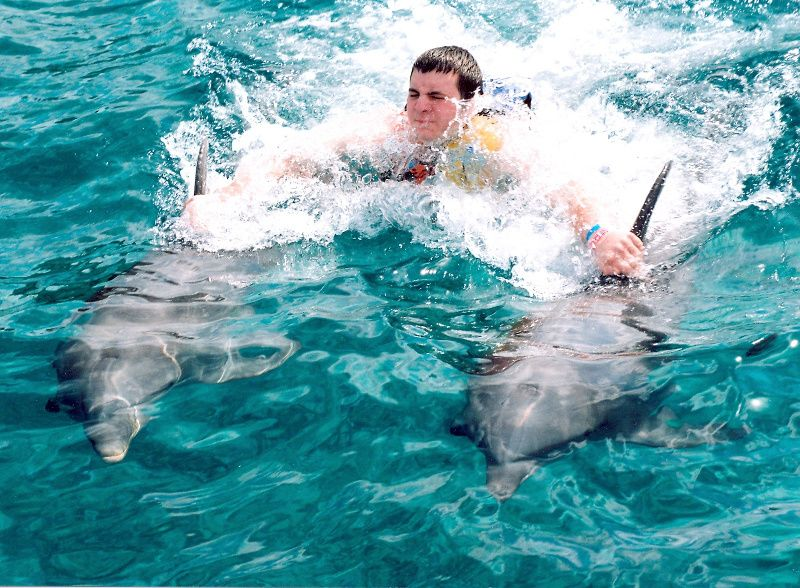 Swim with Dolphins in Dolphin Cove Montego Bay