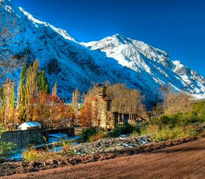 Private Cajon del Maipo Tour W/ Lunch, Wine & Hot Springs (Optional)