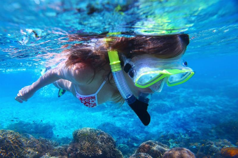 Snorkeling at Lanta 4 Islands by Speedboat