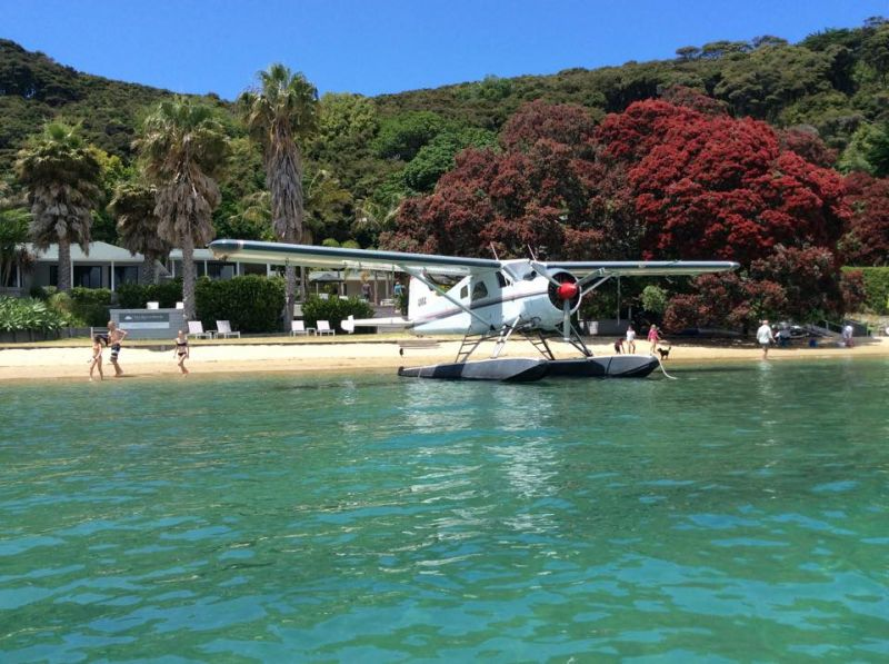 2-Day Kawau Beach House Stay W/ Seaplane Flight