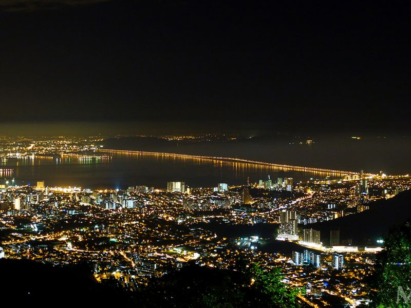 Penang Hill by Night with Dinner