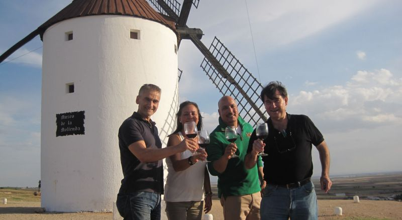 Don Quixote Windmills Tour from Madrid with Wine Tasting