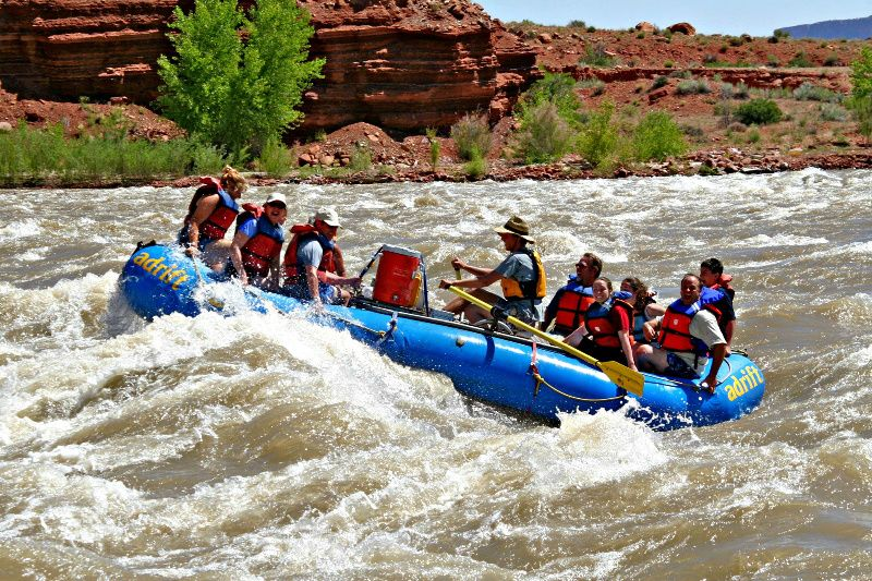 Fisher Towers & Colorado River Rafting - Morning