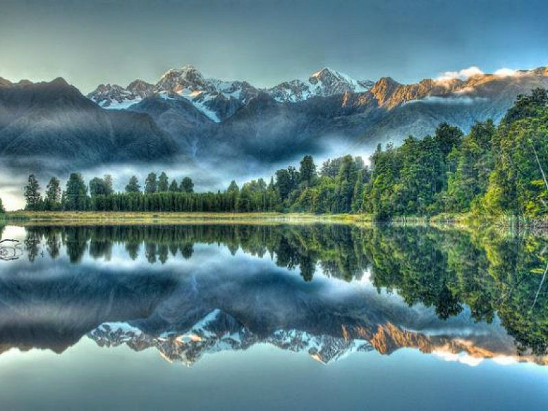 Half-Day Lake Matheson Tour