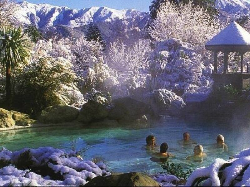 Hanmer Springs Day Tour From Christchurch
