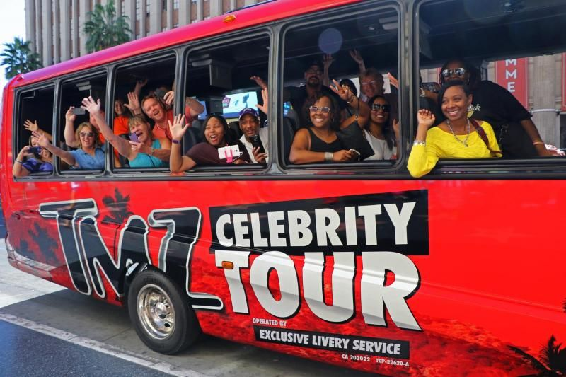 Hollywood TMZ Celebrity Tour From Las Vegas W/ Lunch
