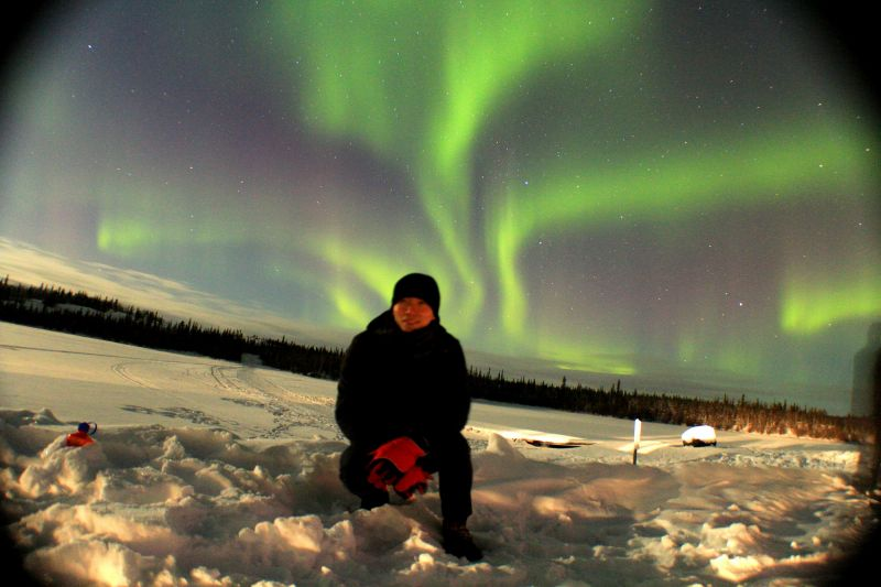4-Day Yellowknife Northern Lights Winter Holiday Package