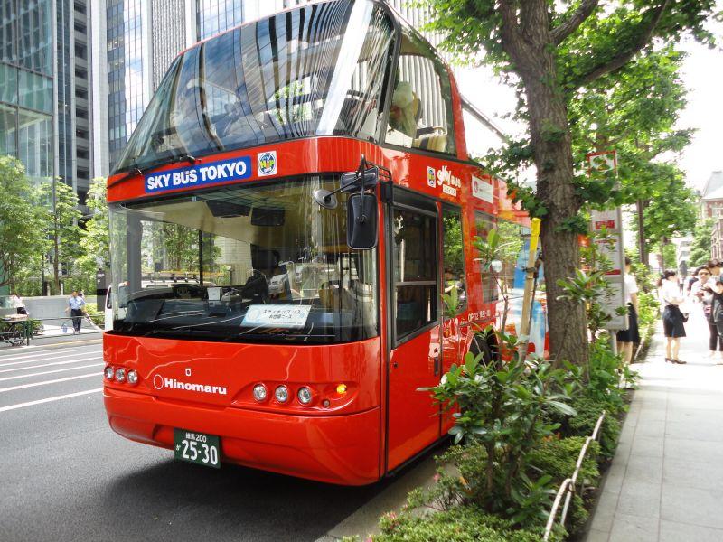 ‹Û�SKY HOP BUS‹ÛÔHop-on hop-off Tokyo sightseeing bus
