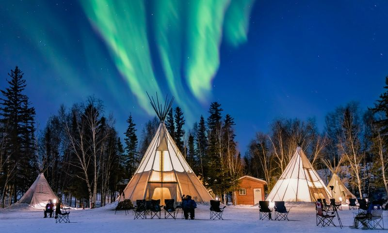4-Day Yellowknife Northern Lights Tour
