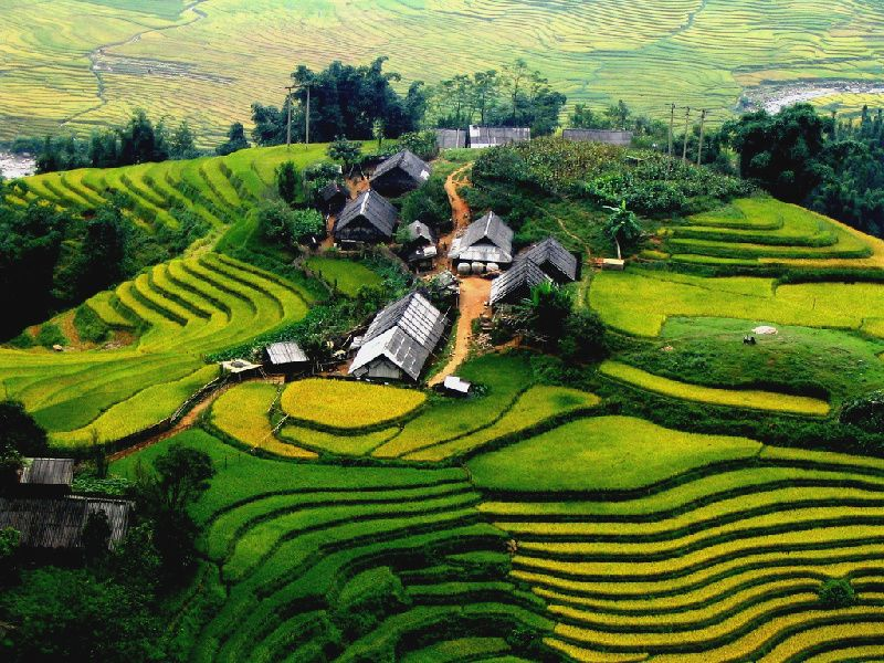 6-Day Northern Vietnam Hanoi - Halong Bay - Sapa Tour