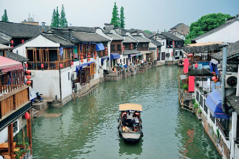 Zhujiajiao Water Town Tour w/ Huangpu River Cruise