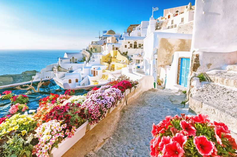 8-Day Athens, Mykonos, and Santorini Tour Package