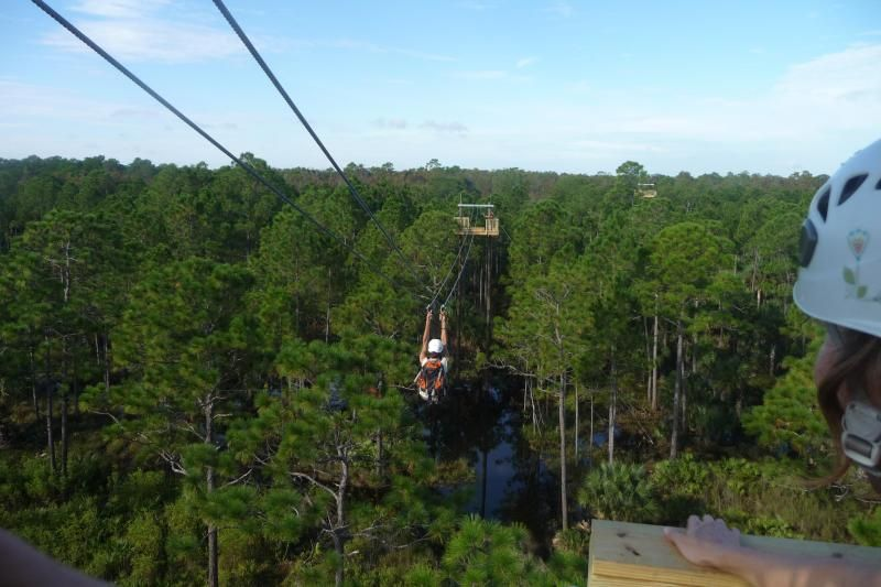 Zip Line Adventure at Forever Florida