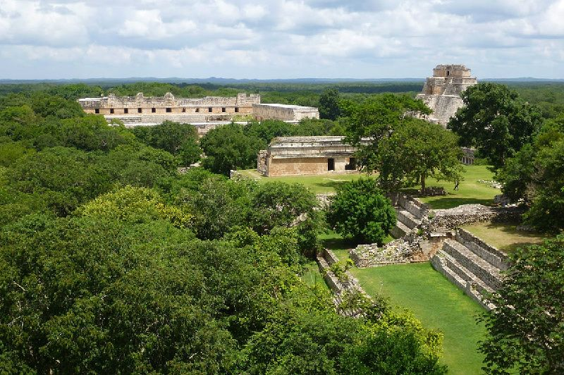 Loltun Caves and Uxmal Tour