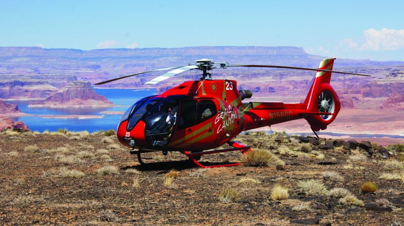 Top of the World Navajo Style Helicopter Tour