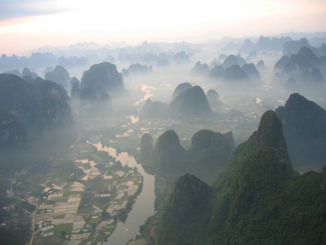 Yangshuo & Guilin Mountains Helicopter Tour
