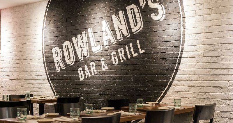 Rowland's Bar & Grill: 2-Course Lunch Voucher