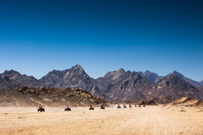 3-Hour Desert Quad Bike Safari