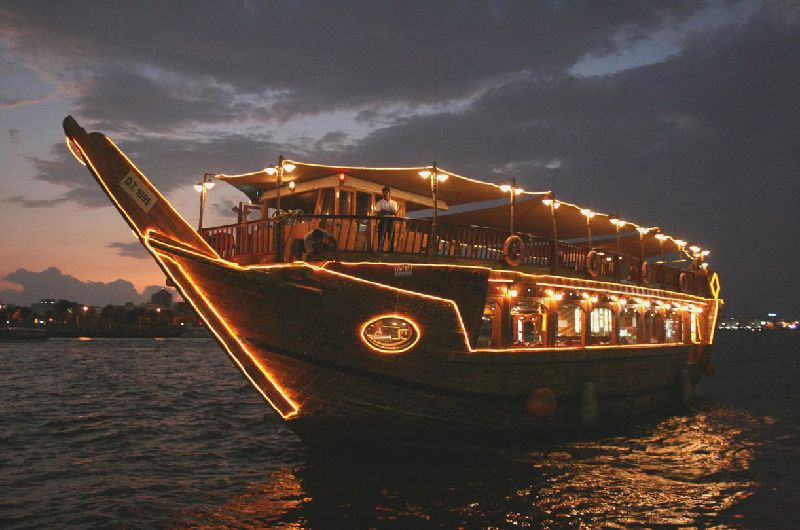 Dubai Combo Tour: Desert Safari + Dhow Cruise