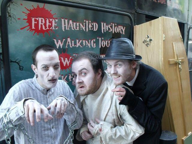 Dublin Gravedigger Ghost Bus Tour