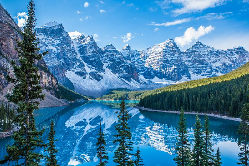 4-Day Canadian Rockies and Hotsprings Winter Tour With Bonus Hot Springs & National Park Admission
