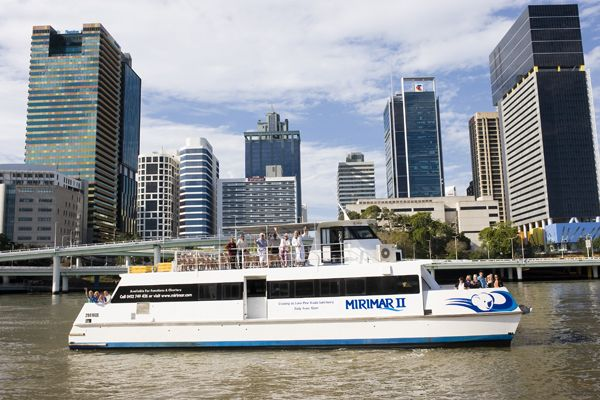 Koala Express River Cruise to Brisbane