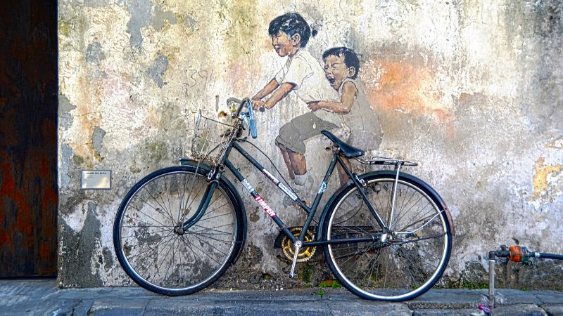Street Art of George Town Tour from Penang