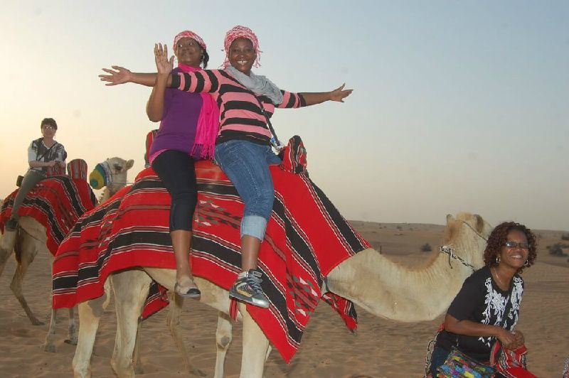 Sunrise Camel Trekking with Arabic Breakfast