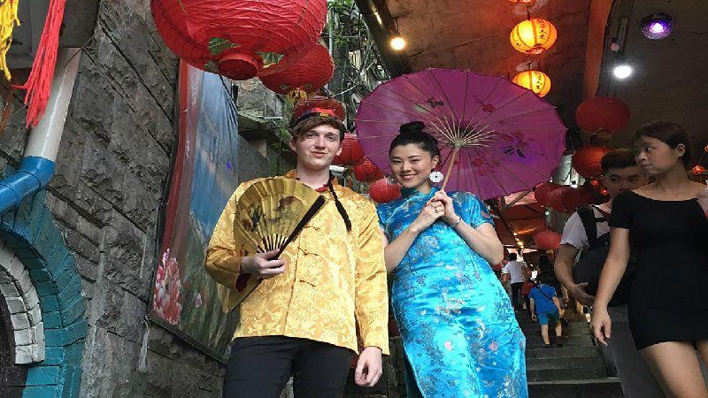 Experience Cheongsam in Jiufen