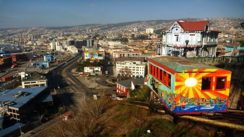 Private Valparaiso and Vina del Mar Tour from Santiago
