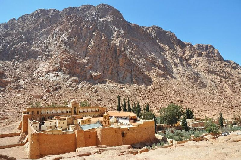 St. Catherine Monastery Day Trip from Dahab by Coach