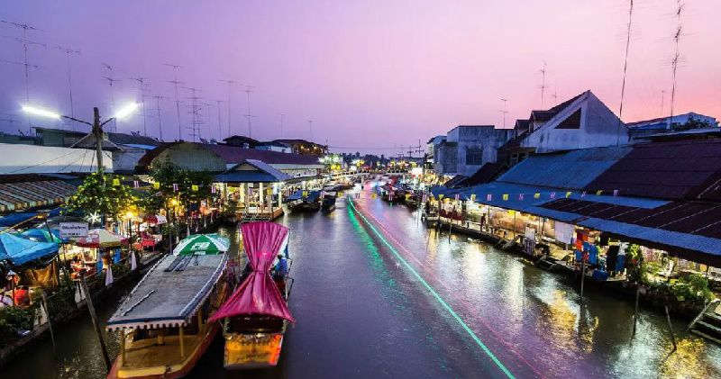 1 Day Thailand Floating Markets Tour