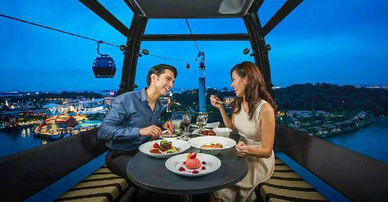 Singapore Cable Car Dining on Cloud 9
