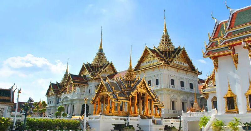 One Day Bangkok Grand Palace and River Cruise Sightseeing Tour