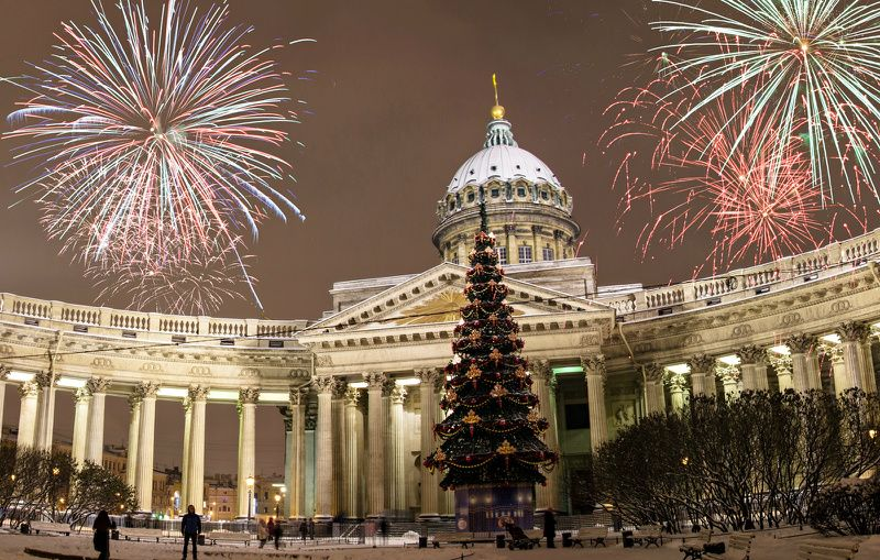 5-Day New Year's Eve in St. Petersburg City Break