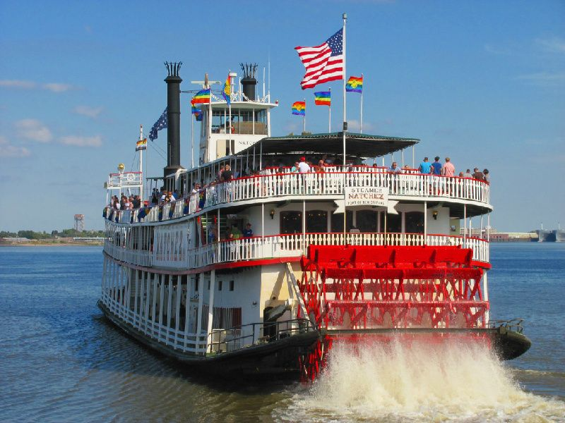 New Orleans Super City and Natchez Daytime Jazz Cruise Combination Tour