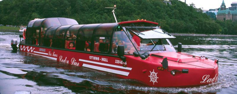 Amphibus Tour of the National Capital Region
