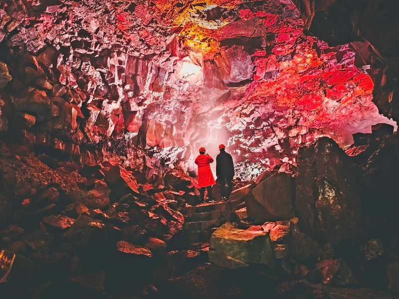 3-Hour Lava Cave Tour From Reykjavik