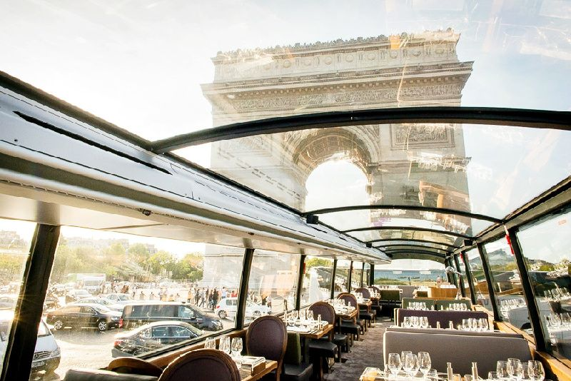 Bustronome Paris Lunch Menu: Paris Sightseeing + French Gastronomy