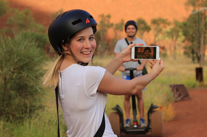 Uluru By Segway - Includes A Return Transfer to Resort  (UBS)