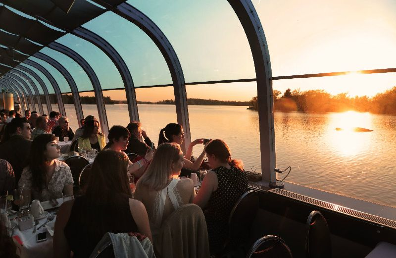 Thousand Islands Dinner Cruise at Dusk from Kingston