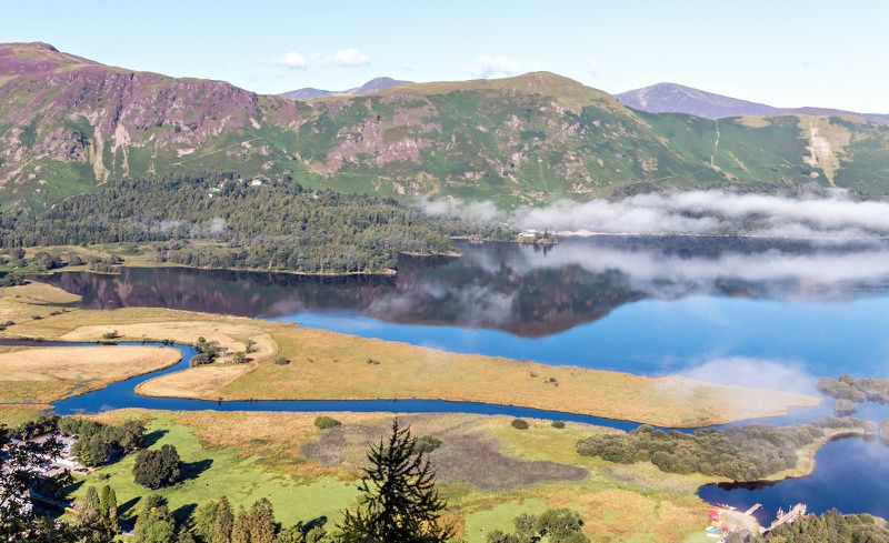 Ten Lakes Day Tour from Keswick with Derwentwater Cruise